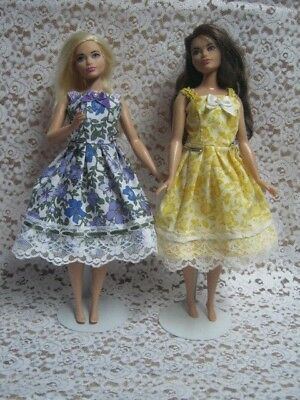 Dress for Dolls. №120 Clothes for Curvy Barbie Doll