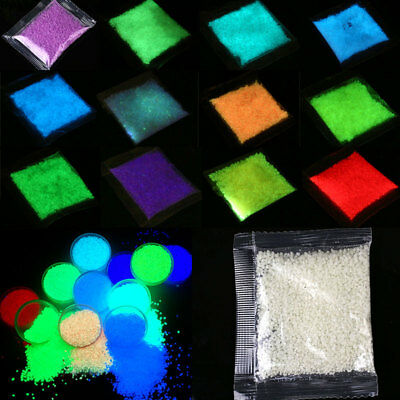 Glowing Luminous Sand Colorful Fluorescence Highlight Artificial Decor