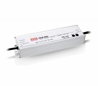 240W high efficiency LED power supply 12V 16A with PFC