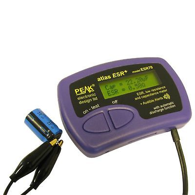 ESR / Low resistance and capacitance meter