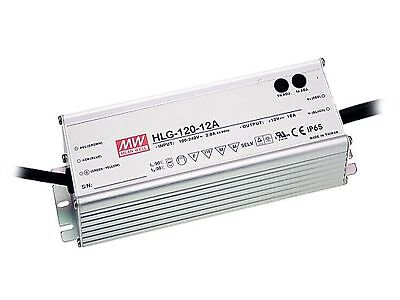 120W high efficiency LED power supply 12V 10A with PFC