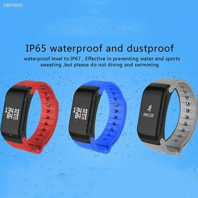 Sport Pedometer Blood Pressure Heart Rate Fitness Smart Watch Bracelet E7E0268