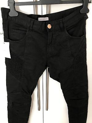 2b2c34e8 100% Authentic Pierre Balmain Black Jeans Skinny Size 30 L34 rrp £495