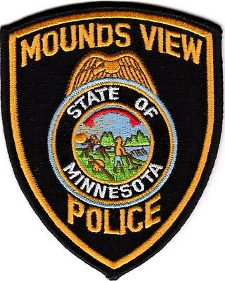 Mounds View Police Department Police Patch Minnesota MN