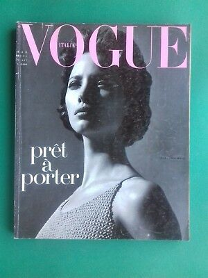 VOGUE Italia Marzo 1991 March Christy Turlington Linda Evangelista Christensen