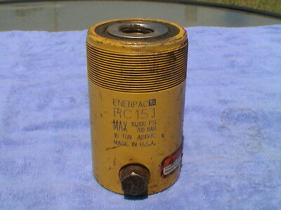 ENERPAC Cylinder 15 tons 1in Stroke RC-151
