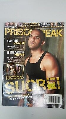 Magazines: Prison Break - Sucre Edition - UK Edition - 2008 - BN - Bagged