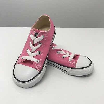 f710bc145172 CONVERSE Chuck Taylor All Star Pink Toddler Little Girls Tennis Shoes Size  9 NEW