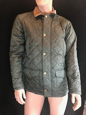BNWT BARBOUR Gents' Superb Canterdale Quilted Jacket Size M