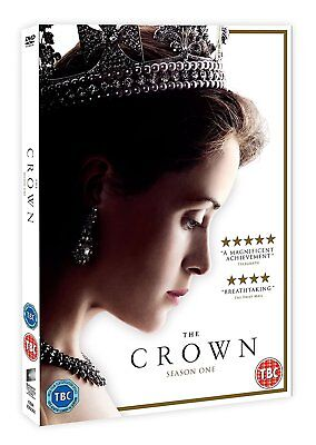 The Crown Series 1 Complete Dvd Box Set Season One New Sealed