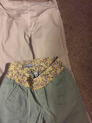 GORGEOUS OLD NAVY MATERNITY PANTS-SIZE SMALL/Small Short LOVE THESE!