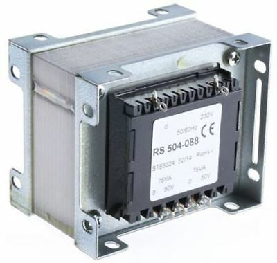 RS Pro 150VA 2 Output Chassis Mounting Transformer, 50V ac