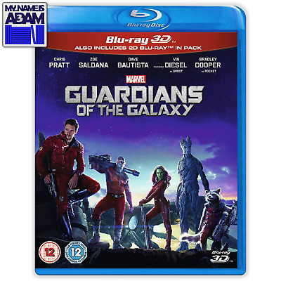 [MARVEL] GUARDIANS OF THE GALAXY Blu-ray 3D + 2D (REGION-FREE)