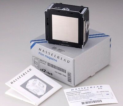 Hasselblad 30212 A12 6X6 Film Back - Mint Condition And Boxed