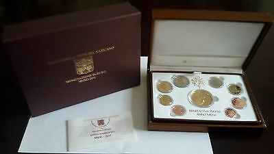 Vatican Proof Annual Coin Set 2011  8 Coins + Gold Medal Mintage ONLY 300! New