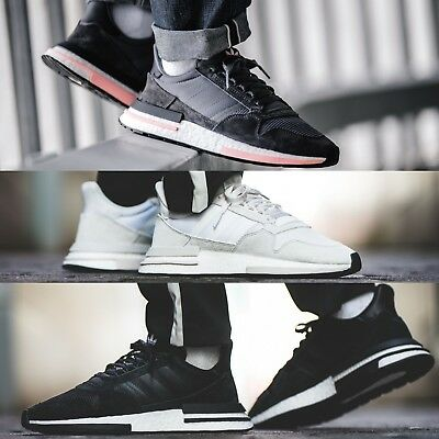 79d08ebeb91af Adidas Originals ZX 500 RM Boost Men s Running Shoes Lifestyle Comfy  Sneakers