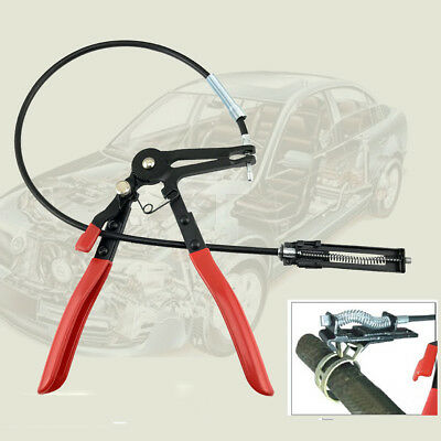 63cm Easier Flexible Wire Long Reach Hose Clamp Pliers Fuel Oil Water Auto Tool