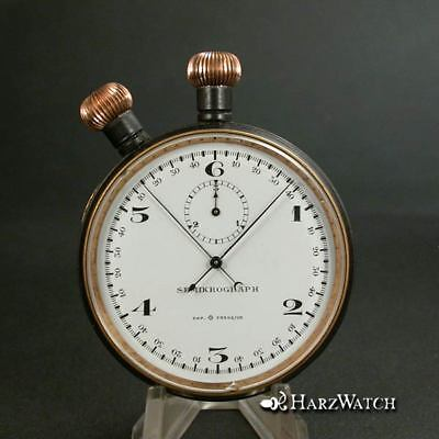 Heuer SEMIKOGRAPH Military Split Second Rattrapante Stopwatch from 1916