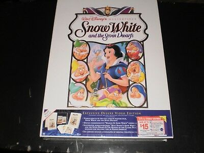 Walt Disney's Masterpiece Snow White And The Seven Dwarfs Video Collection