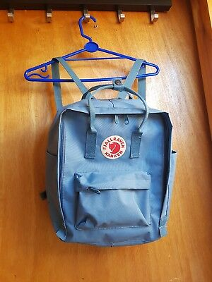NEW FJALLRAVEN KANKEN STYLE Fox Backpack Sky Blue READ DESCRIPTION