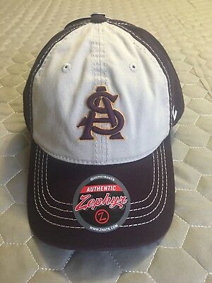 super popular ed1af f0174 Arizona State Sun Devils Official NCAA University Adjustable Hat Cap by  Zephyr