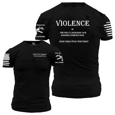 VIOLENCE, Enlisted Ranks, sold by the #1 seller of Grunt Style