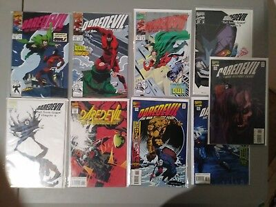 Daredevil#301-#338... Lot Of 9...most In Vf Or Better Condition...l@@k