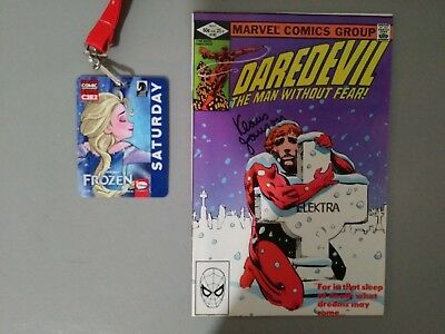 Daredevil #182..signed By Klaus Janson At C2E2...in Vf Or Better Condition