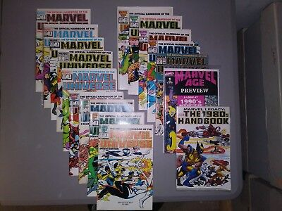 Copper Age Marvel Universe... #1-#18... Lot Of 16 In Nice Condition....