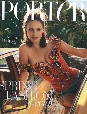 "PORTER MAGAZINE - SPRING 2018 ""Natalie Portman"" Subscribers Edition (BN/SEALED)"