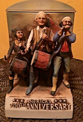 America's 200th Anniversary Musical Decanter McCormick Limited Edition