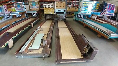 2- Rare Big Ball Bowlers Bowling Machines Projects 1964-69 Bally CONTACT