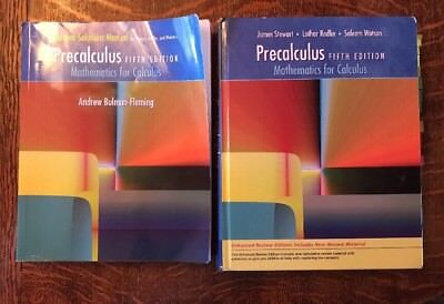 Study guide for stewartredlinwatsons precalculus mathematics for precalculus fifth edition mathematics for calculus stewart redlin watson fandeluxe Image collections