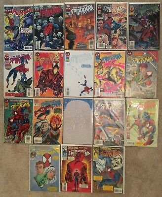 AMAZING SPIDER-MAN LOT - 36 BOOKS Carnage, Dr. Octopus, Ant-Man, Jackel