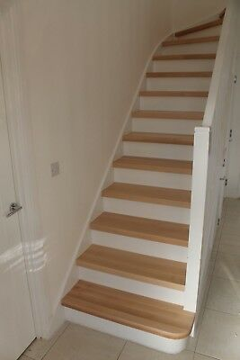 14 BEECH WOOD stair treads - system2 - TOP QUALITY HARDWOOD