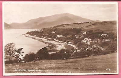 Cove from North Ailey, Helensburgh, Scotland postcard. Real Photo. Valentines.