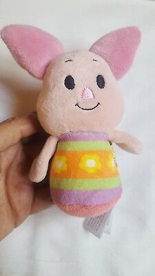 EASTER PIGLET Itty Bittys Disney Winnie the Pooh Easter Hallmark pre-owned doll