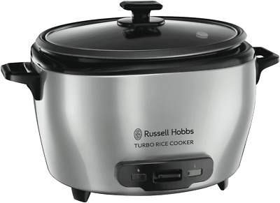 NEW Russell Hobbs RHRC20 Turbo 20 Cup Rice Cooker