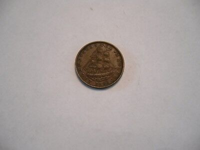 1841 Hard Times Token Webster Credit Current Not one cent