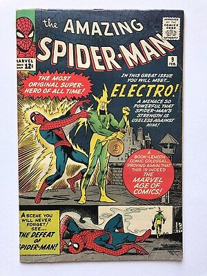 Amazing Spider-Man #9 (Feb '64, Marvel) First ELECTRO - Key Issue!