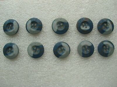 07's series China PLA Air Force Camouflage Resin Buttons,10 Pcs,20mm