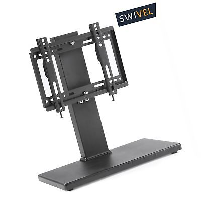 TAVR Universal Swivel Tabletop TV Stand With Mount For Up To 37 Inch LED,LCD