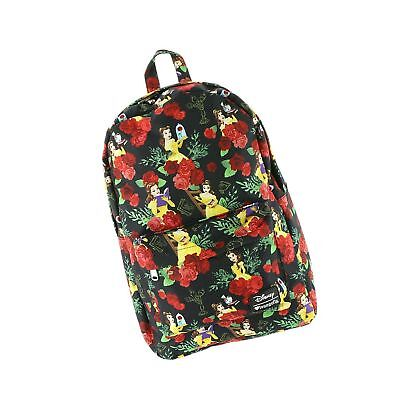 144d4c075e4 Loungefly Disney Beauty and the Beast Belle Backpack Multicoloured One Size