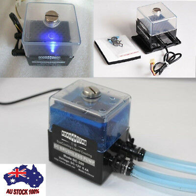 12V DC Ultra-Quiet Water Pump For PC CPU Liquid Cooling System SC-300T Max300L/h