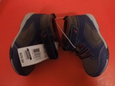 7a0a7bbc7 NEW CARTERS TODDLER boy shoes Sneakers Size 8 Slip On Straps ...