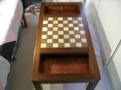 Chess Coffee Table With Chess Set