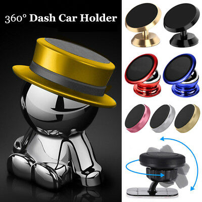 360° Magnetic Car Mount Holder Stand Dashboard For Cell Phone GPS Universal Hot