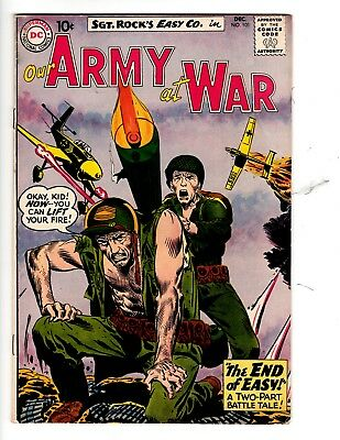 OUR ARMY AT WAR #101 DC DECEMBER 1960 As Found.Ungraded
