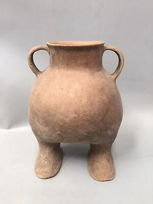 "25"" Ancient Neolithic Hongshan Culture pottery bird shaped pot tank"