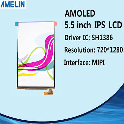 1 39 INCH 400X400 round MIPI DSI OLED lcd display scteen for smart